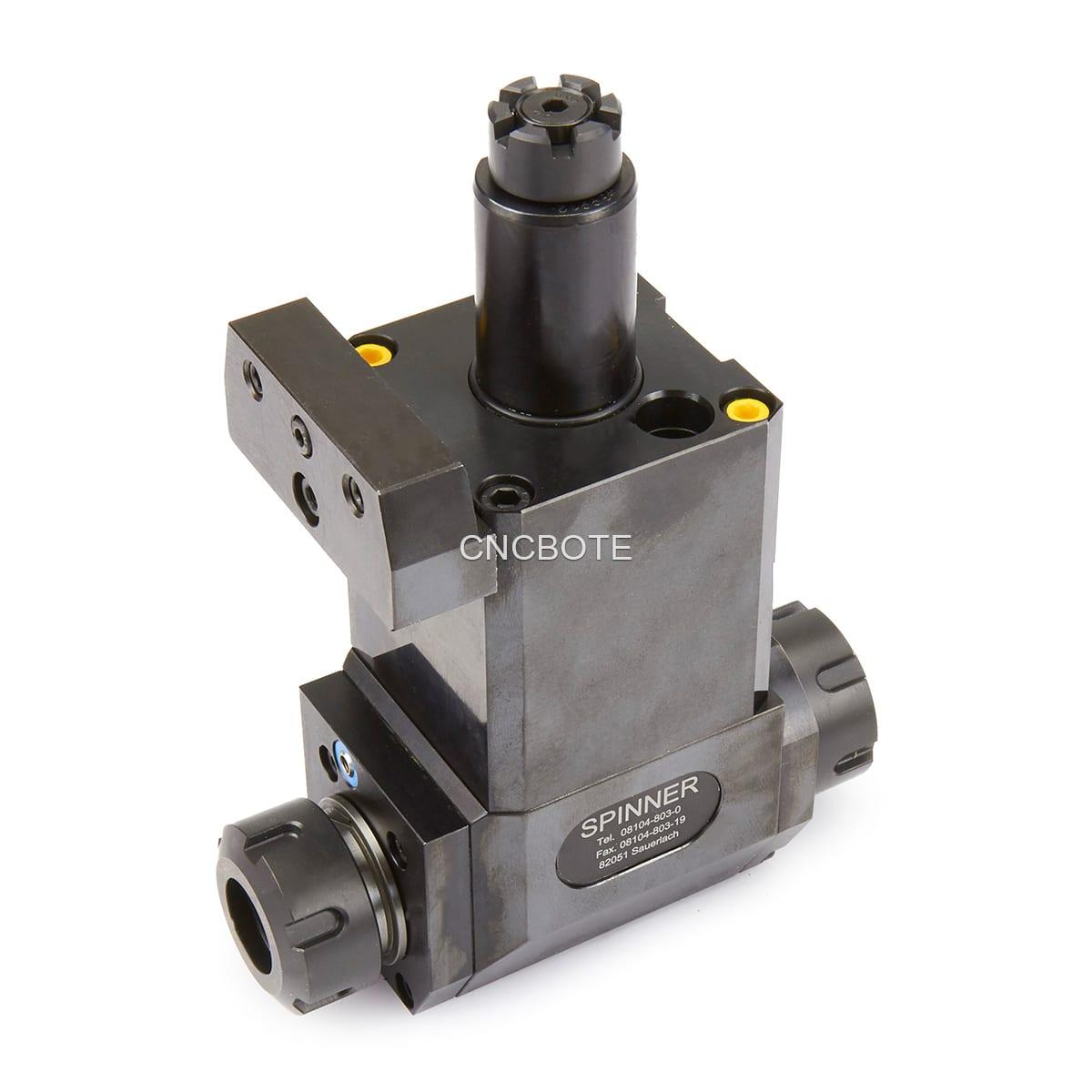 heimatec / Spinner VDI 30 angetriebenes Werkzeug radial doppelseitig, ER25, Baruffaldi