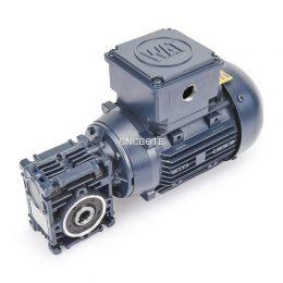 WAT QS FC 63M4A H Motor + Motovario NMRV 030 Schneckengetriebe