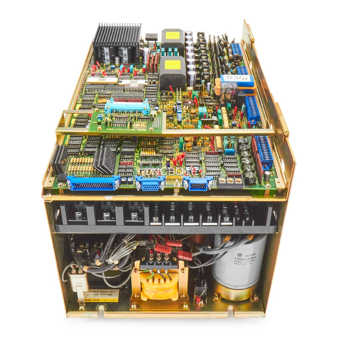 Fanuc A06B-6055-H208 AC Spindle Servo Unit