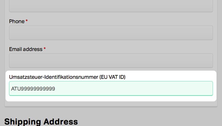 EU VAT ID